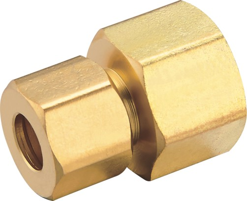 80105 Brass Female Connector