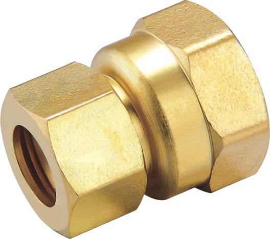 80106 Brass Female Connector