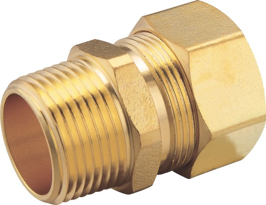 80108 Brass Male Connector