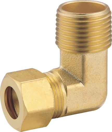 80109 Brass Male Elbow