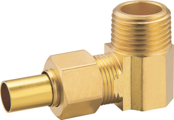 80110 Brass Male Elbow