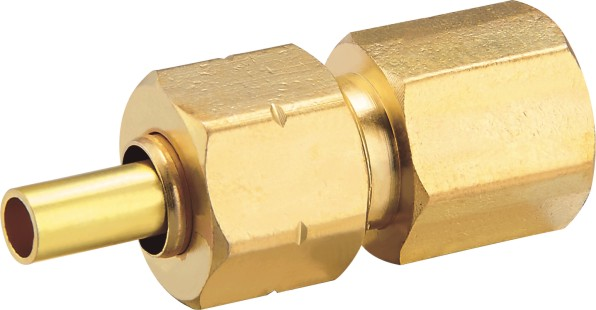 80112 Brass Female Connector