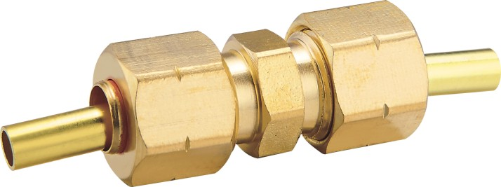 80114 Brass Compression Union